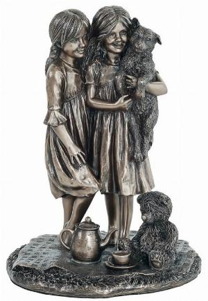 Photo of Friendship Bronze Figurine 21cm