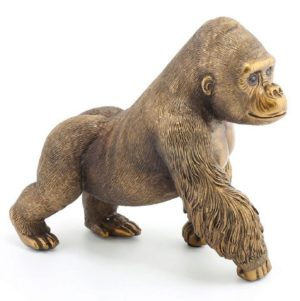 Photo of Gorilla Bronzed Figurine Medium (The Leonardo Collection)