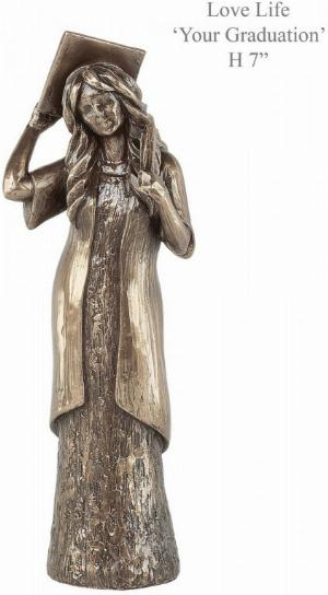 Photo of Graduation Bronze Figurine