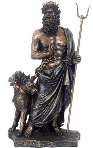Photo of Hades Greek God of the Underworld Figurine 28cm