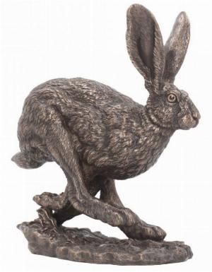 Photo of Hare Running Bronze Figurine (Andrew Bill)