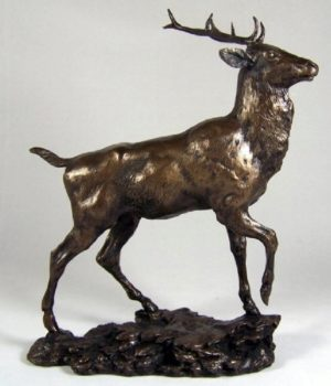 Photo of Highland Monarch Bronze Sculpture Figurine (David Geenty)