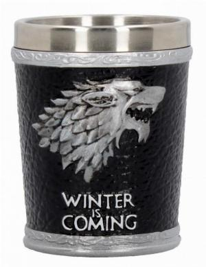 Photo of House Stark Shot Glass Winter Is Coming