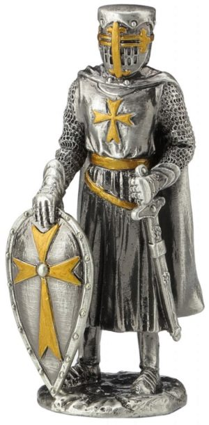 Photo of Knight Warrior Pewter Figurine