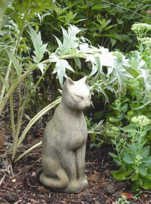 Photo of Large Tomb Cat Stone Statue