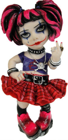 Photo of Little Miss Rebel Cosplay Girl Figurine