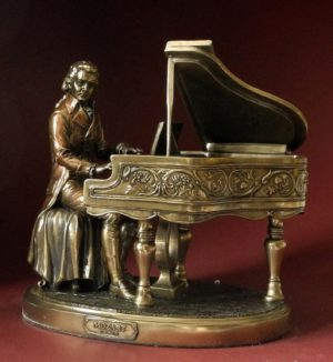 Photo of Mozart Bronze Figurine