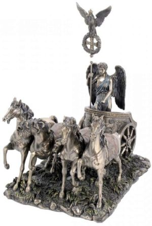 Photo of Nike in Quadriga Chariot Figurine