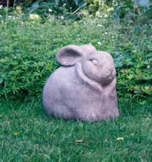 Photo of Rabbit Garden Stone Sculpture