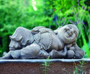 Photo of Reclining Buddha Stone Ornament