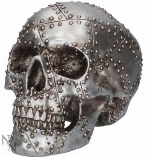 Photo of Rivet Head Skull Ornament 19cm