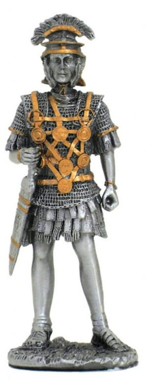 Photo of Roman with Sword Pewter Figurine