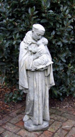 Photo of Saint Anthony Stone Statue
