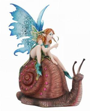 Photo of Snail Ride Fairy Figurine