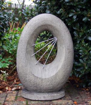 Photo of Sunburst Stone Sculpture