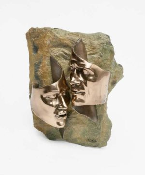 Photo of Tender Love Bronze Wall Plaque