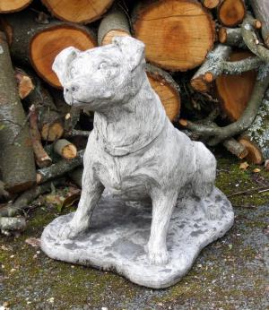 Photo of Terrier Dog Stone Statue