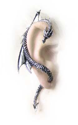 Photo of The Dragons Lure Ear Wrap