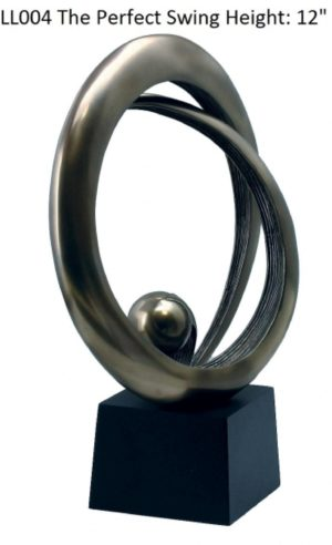 Photo of The Perfect Swing Bronze Sculpture
