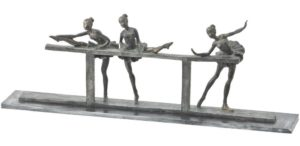 Photo of Three Ballet Dancers Bronze Sculpture 58cm Large