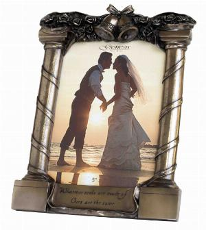 Photo of Wedding Frame Bronze