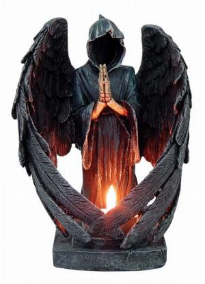 Photo of Angel of Death Candle Holder