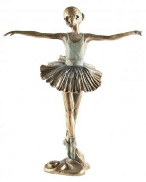 Photo of Ballerina Beautiful Dance Bronze Figurine 2