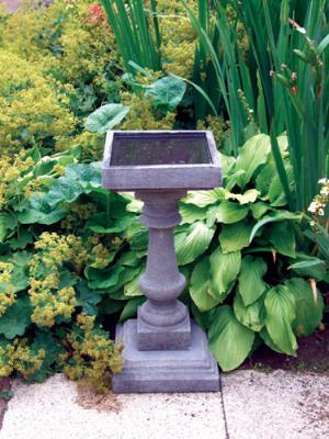 Photo of Baluster Stone Birdbath