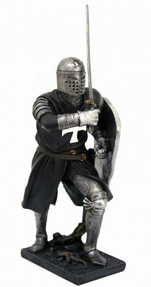 Photo of Black Crusader Knight Figurine