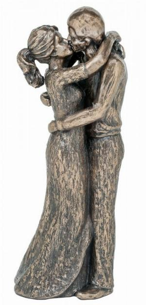 Photo of Bliss Couple Bronze Figurine