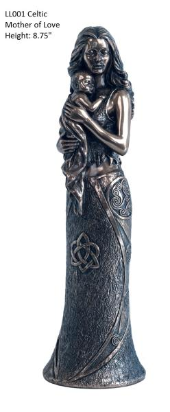 Photo of Celtic Mother of Love Bronze Sculpture