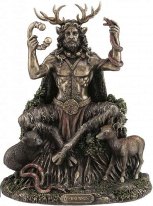 Photo of Cernunnos and Animals Figurine 23cm