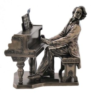 Photo of Chopin Bronze Figurine