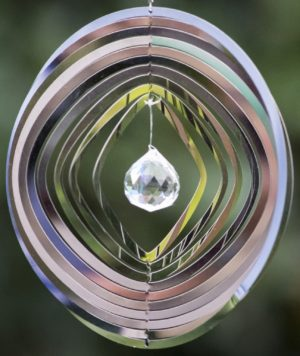 Photo of Cosmo Circle Spinner With Crystal Small
