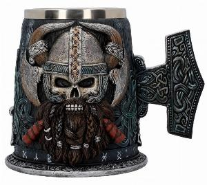 Photo of Danegeld Viking Tankard Large 18 cm