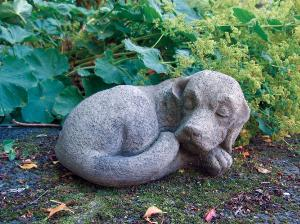 Photo of Dog Nap Stone Ornament
