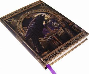 Photo of Embossed Wizards Raven Journal