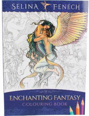Photo of Enchanting Fantasy Colouring Book Selina Fenech