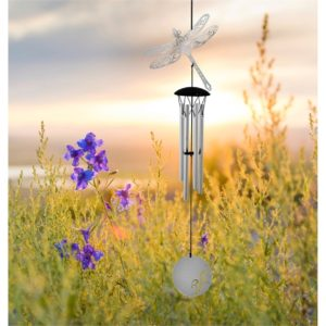 Photo of Flourish Chime Dragonfly Wind Chime (Woodstock)