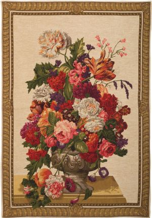 Phot of Flowers Wall Tapestry I
