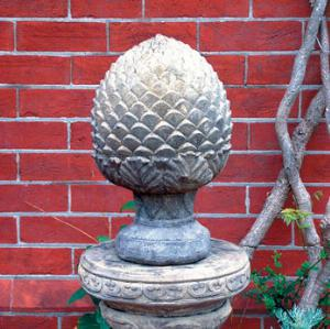 Photo of Globe Antichoke Stone Sculpture