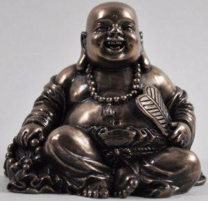 Photo of Happy Buddha Small Bronze Figurine