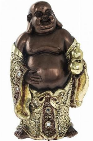 Photo of Happy Buddha Standing Figurine Leonardo Collection 20 cm