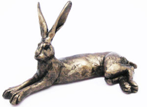 Photo of Harvey the Hare Bronze Sculpture