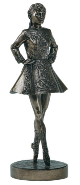 Photo of Irish Dancer Bronze Figurine