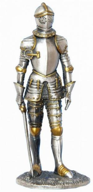 Photo of Knight of the Realm Pewter Figurine