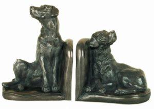 Photo of Labrador Bookend Sculptures