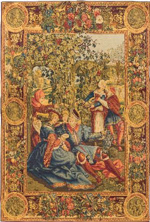 Phot of Lucas October Renaissance Wall Tapestry