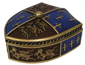 Photo of Medieval Trinket Box 12.5cm