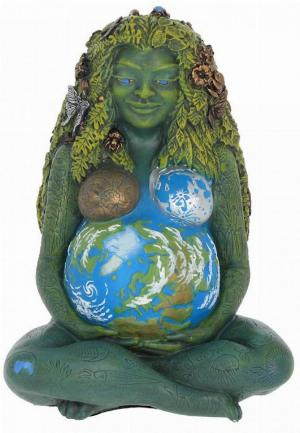 Photo of Mother Earth Figurine Oberon Zells Millennial Gaia